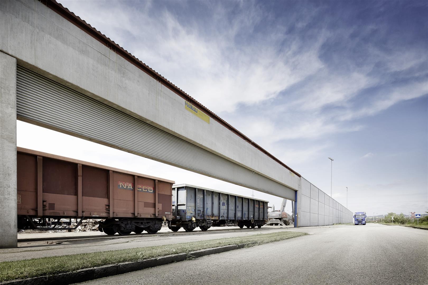 Schrotthandel Neumüller, Ennsdorf (27 M breit)